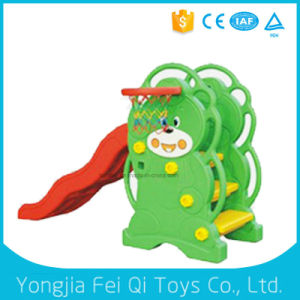 Top Factory Child Kids Water Slide with Plastic Basketball Stand for Fun pictures & photos