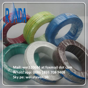 China Twin Flat PVC Insulation Electrical Wire pictures & photos