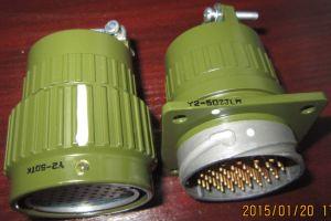 Y2m-50 Pins Metal Circular Bayonet Connectors pictures & photos