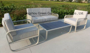 Outdoor Furniture Rattan Sofa with Coffee Table pictures & photos