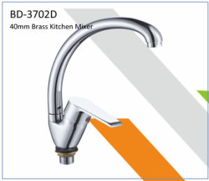 Bd3702b 40mm Brass Single Lever Kitchen Faucet pictures & photos