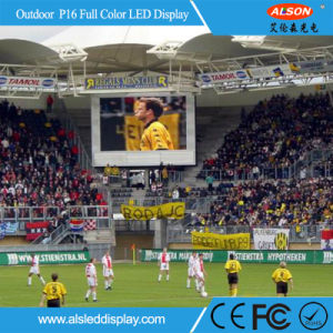 Outdoor P16 Full Color Stadium Perimeter Outdoor LED Display pictures & photos