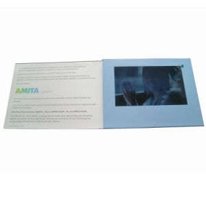 Popular LCD Screen Video Greeting Cards pictures & photos