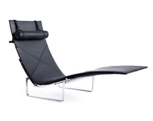 Poul Kjarholm Pk24 Chaise Longue in Leather pictures & photos