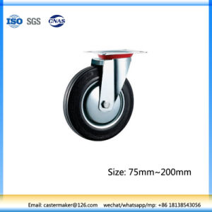 200mm Rubber Swivel Caster Wheel pictures & photos