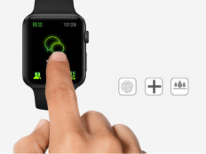 Asahi Glass Delicate Touch Hardened Glass Film Phone Accessories for Apple Watch pictures & photos