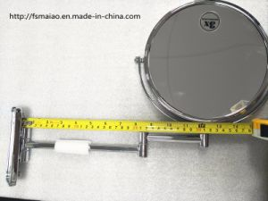 "8"" Stainless Steel Hotel Bathroom Wall-Mounting Folded Cosmetic Mirror (1032) pictures & photos"