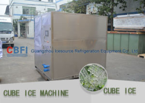 Ice Cube Maker Machine with Daily Capacity 1 Ton ~ 20 Tons Per Day pictures & photos