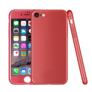 360 Degree PC Full Case for iPhone 6/7 with Tempered Glass Screen Protector pictures & photos