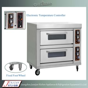 Gas Pizza Oven with Stone Base pictures & photos