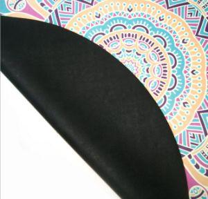 Heat Transfer Printing Round Yoga Mat 140X140cm with Custom Design pictures & photos