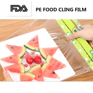 Pallet Jumbo Mill Roll Strech PE Cling Food Film pictures & photos