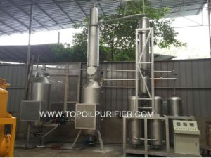 Continuous Waste Engine Oil Recycling Plnat to Diesel Fuel (EOS-20) pictures & photos