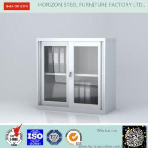 Sliding Doors Storage Cabinet with Japanese Galvanized Steel and Epoxy Powder Coating Finish pictures & photos
