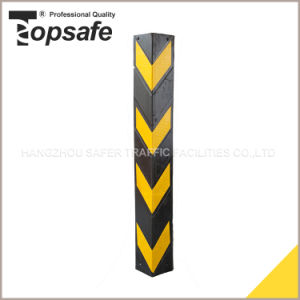 80cm Rubber Corner Protector with Yellow Reflective Tapes pictures & photos