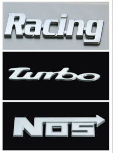 Custom ABS Chrome Plated Car Badge, Car Emblem, Car Sticker pictures & photos