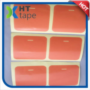 0.2 Thick and High Viscosity Pet Red Film Double-Sided Tape pictures & photos