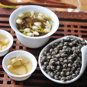 New Premium Jasmine Dragon Pearls Green Tea pictures & photos