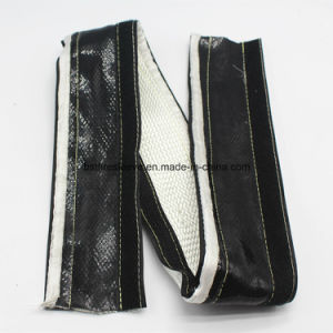 Thermal Protection Sleeve Silicone Heat Shield Fire Wrap with Hook & Loop pictures & photos