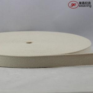 Cotton Herringbone Plain Weave Webbing pictures & photos