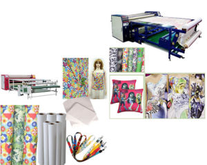 Factory Price 100GSM Tacky Sublimation Paper for Lycra /Spandex pictures & photos