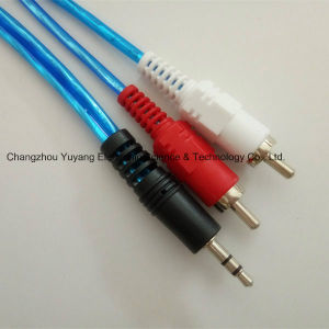 High Speed 2r-to-3.5sterep Audio/Video AV RCA Cable pictures & photos