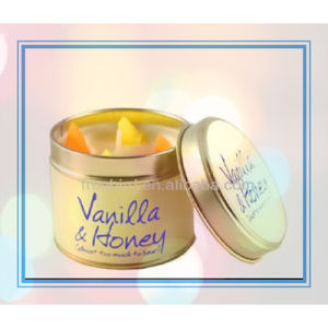 Lavender Eucalyptus Round Tin Candle with Stickers pictures & photos