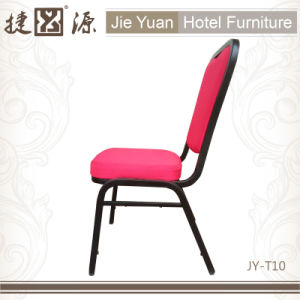 Fashion Metal Frame Stack Chair for Banquet (JY-T10) pictures & photos