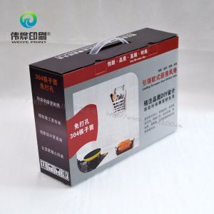 Red Gift Box Printing Use for Kitchenware Packaging pictures & photos