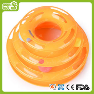 Three Layer Crazy Turntable Cat Toys Cat Product pictures & photos