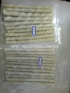 Natural Porkhide Twist Dog Chew China Supplier pictures & photos
