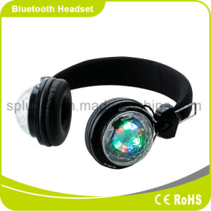 Bluetooth Headphone with LED Light Wireless Headphones for Mobilephone, iPhone, PC and MP3 pictures & photos
