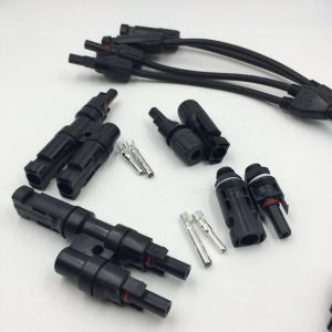 IP67 Waterproof Mc4 Solar Panel Plug Socket Connectors Male & Female pictures & photos