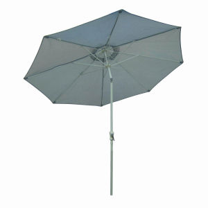 Garden Umbrella Fashion Stripes Gray Pool Umbrella pictures & photos