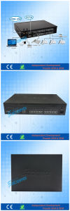 Telephone System 8 Trunk Line 32 Exts. with 2 GSM Wireless PBX for Business Hotel pictures & photos