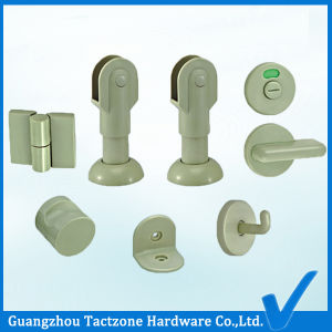 Wholesale Manufacturer Toilet Cubicle Plastic Accessories for Wood Bathroom Partitions pictures & photos