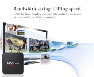 Mxq PRO Smart Android 6.0 TV Box Amlogic S905X Quad Core Google Set Top Box Fully Loaded DHL Shipping pictures & photos