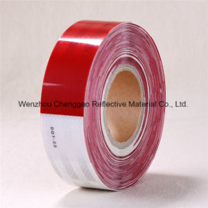 Red White Conspicuity Reflective Stripe Tape for Truck (C5700-B(D)) pictures & photos