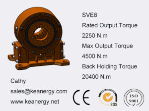 ISO9001/CE/SGS Slewing Drive for Solar Panel System with Gear Motor pictures & photos