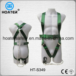Hot Selling 3-Point Safety Harness Safety Belt with Lanyard pictures & photos
