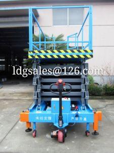 500kg 9meters Hydraulic Work Platform (SJZ0.5-9) pictures & photos