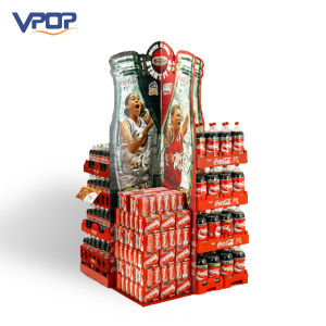 Logo Printed Paperboard Pallet Display Carton for Coca Cola