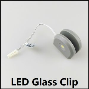 3-Side Emitting LED Clip for 8mm Glass pictures & photos