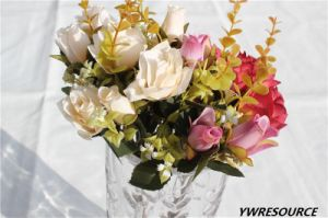 Wholesale Cheap New Year Decoration Artificial Flowers pictures & photos