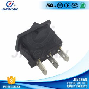 High Quality Black Single Pole 3 Position on-off-on Rocker Switch pictures & photos