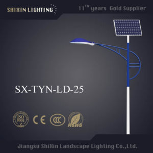 Ce Approved IP68 7m 30W LED Solar Street Light pictures & photos