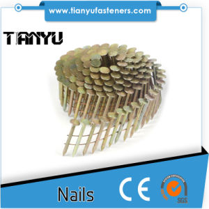 15 Degree Galvanized Smooth Shank Coil Roofing Nails pictures & photos