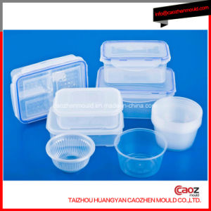 Plastic Injection Round Lock Lock Food Container Mould pictures & photos