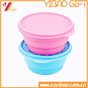 Customed High Quality Easy to Clean Ketchenware Silicone Bowl (YB-HR-145) pictures & photos