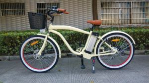2017 Fat Tire Beach Electric Bicycle for Sale pictures & photos
